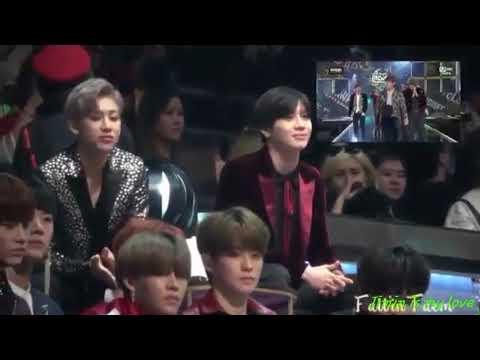 BTS Jimin & SHINee Taemin interaction part 3