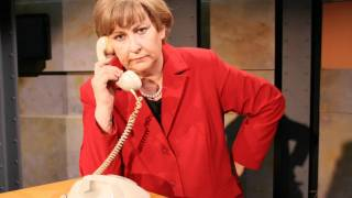 Angie telefoniert: Davos 2012