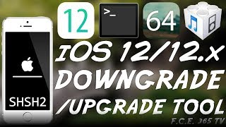 How To Downgrade / Upgrade To iOS 12 1 2 / 12 0 Using