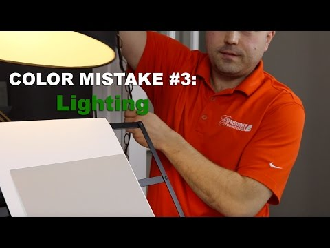 Color Mistake #3 -  LIGHTING