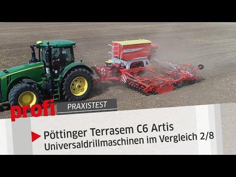 profi-Test: TERRASEM C6 ARTIS Mulchsaatmaschine