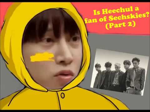 希澈是水晶男孩飯嗎?Is Heechul a fan of Sechskies?(Part 2)