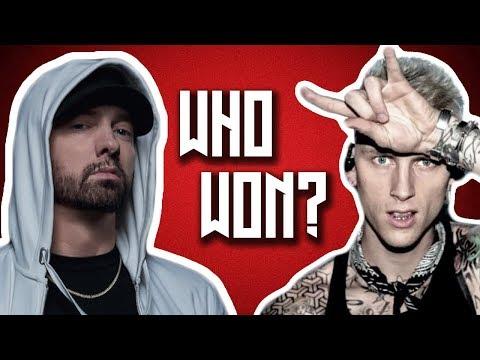 Who Won Between Eminem and Machine Gun Kelly?