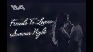 Friends To Lovers ASMR Love Confession Girlfriend Roleplay Kisses Tingles Summer Night