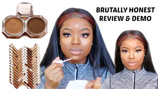 FULL FACE USING FENTY BEAUTY INSTANT RETOUCH CONCEALERS & SETTING POWDER HONEST REVIEW || I'M SHOOK