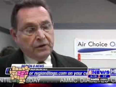 Air Choice One Ribbon Cutting in Jonesboro, AR
