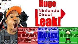 Huge Nintendo Direct Leak! Mother 3D! Cuphead! Final Fantasy 7 & More!