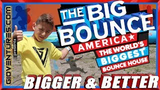 Big Bounce America 2019 - Worlds Biggest Bounce House - The Giant Obstacle Course