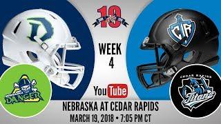 Week 4 | Nebraska Danger at Cedar Rapids Titans