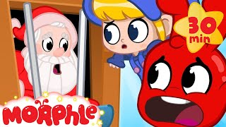 Santa In Jail - My Magic Pet Morphle | Christmas Cartoons For Kids | Morphle TV | BRAND NEW