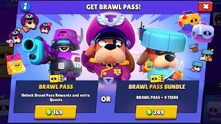 Brawl Pass Season 5!!💳 + Every NEW SKIN Gameplay!!😎💥   Brawl Stars Sneak Peek
