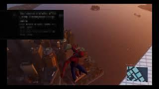 Spiderman exploring the world