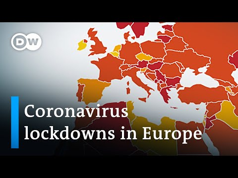 Coronavirus Update: Europe struggles lowering infection numbers   DW News