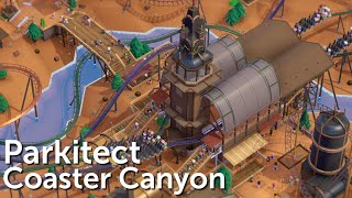 Parkitect Campaign (Part 17) - Coaster Canyon - Wild, Wild West