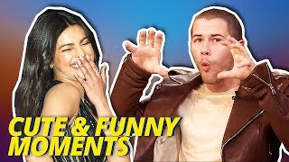 Nick Jonas & Priyanka Chopra Funny and Cute Moments