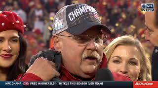 Kansas City Chiefs Full Lamar Hunt Trophy Presentation | NFL