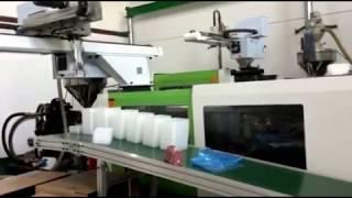 İnce Cidarlı Ürünler İçin Enjeksiyon Makinası Kısa Çevirim (4 - 5 saniye)