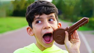 Jason and Chocolate Challenge   Funny stories for kids