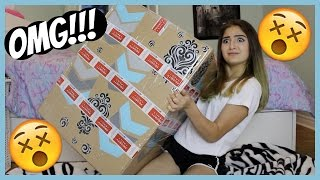 UNBOXING THE MOST EPIC GIFT EVER!!!