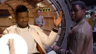 """Daisy Thinks I'm Adorable."" John Boyega on Star Wars Hugs, Nicknames and Life as Finn"