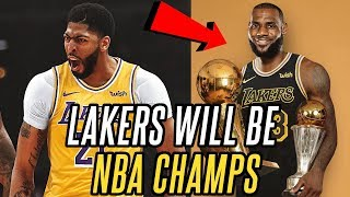 Why The Lakers Will Be NBA CHAMPIONS After The Anthony Davis Trade