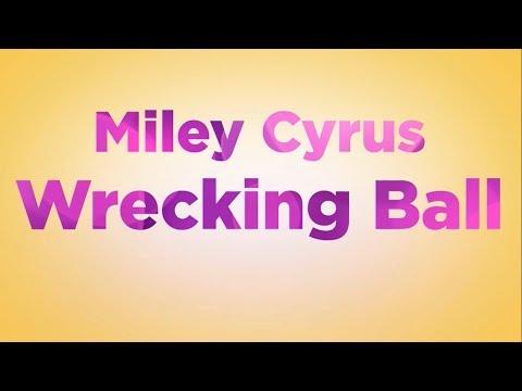 Baixar Miley Cyrus - Wrecking Ball LYRICS