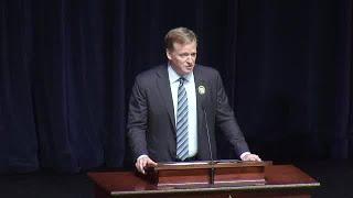 Roger Goodell full speech at Bart Starr funeral