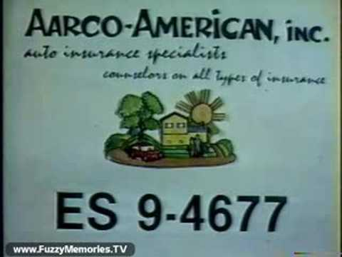 Aarco-American Auto Insurance (Commercial, 1982)