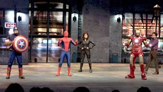 Marvel Super Heroes United FULL Stunt Show at Disneyland Paris Summer of Super Heroes