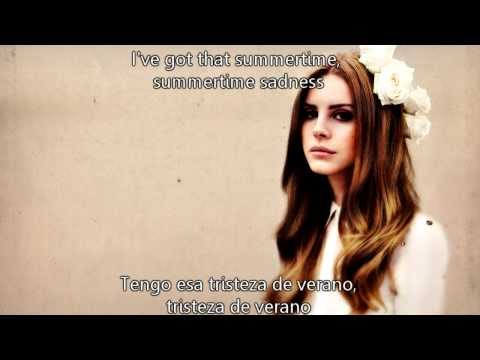 Baixar Lana Del Rey - Summertime Sadness subtitulos español ingles