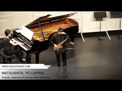 Dinant 2014 - Matsushita, Yo - Prelude, Cadence et Finale by Alfred Desenclos