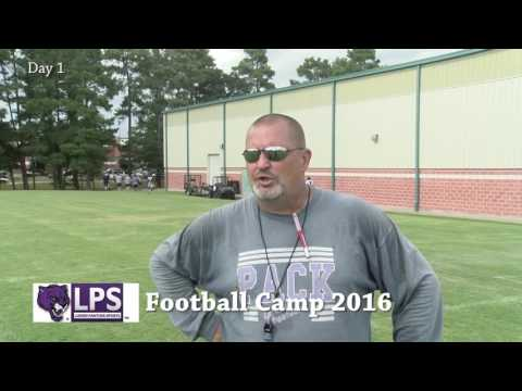 2016 Day 1 Football Camp