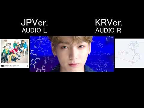 BTS (방탄소년단) 'DNA' JPver. KRver. comparison