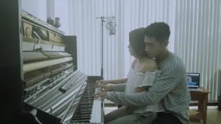 PIANO DUO   Comptine d'un autre été   Quang Đăng & Thái Trinh
