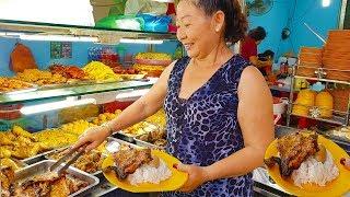 Cơm Tấm Tuyết Cây Gõ miếng sườn bự chảng chỉ 28k khách động nghẹt ở Sài Gòn | saigon food