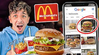 Letting Google Images DECIDE What I Eat For 24 Hours!! (HARD FOOD CHALLENGE)