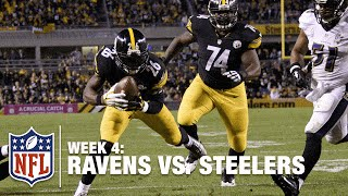 Le'Veon Bell Uses the Entire Field and a Michael Vick Block for this TD | Ravens vs. Steelers | NFL