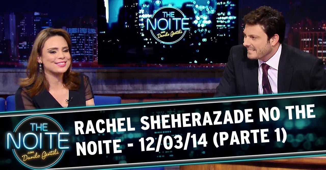 Rachel Sheherazade no The Noite - 12/03/14 (Parte 1)