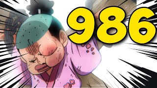 One Piece 986 - IT'S STARTING!