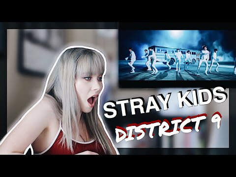 Stray Kids - District 9 M/V Reaction
