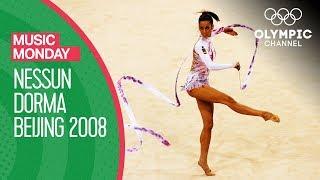 Almudena Cid Performs Rhythmic Gymnastics to Nessun Dorma at Beijing 2008   Music Monday