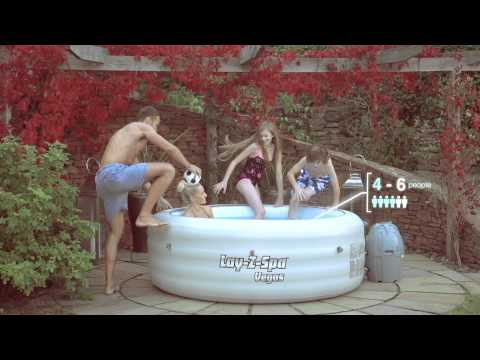 Bestway Lay-Z-Spa Vegas Inflatable Hot Tub*