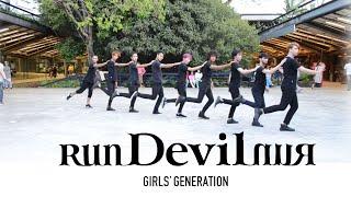 [ KPOP IN PUBLIC CHALLENGE ]- GIRLS' GENERATION - RUN DEVIL RUN - DANCE COVER by B2 Dance Group