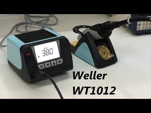 ESTAÇÃO DE SOLDA WELLER WT1012 REVIEW