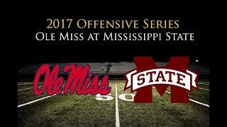 Ole Miss Offense vs. Mississippi State Defense (Egg Bowl, 2017)