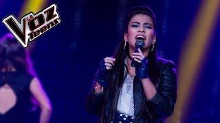 Jennifer canta 'Poppurrí'   Recta Final   La Voz Teens Colombia 2016
