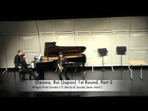 Ozawa, Rui (Japon) 1st Round. Part 2