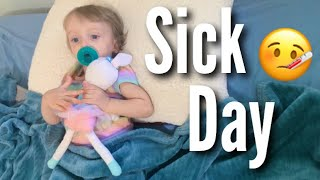 A Day in the Life of Teen Parents with a Sick Baby