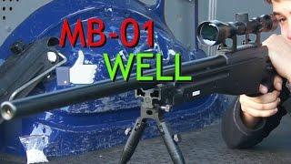 REVIEW AIRSOFT EN ESPAÑOL // L96 WARRIOR (MB-01 WELL)