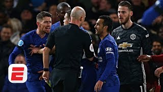 Should Chelsea blame the referees for their defeat vs. Manchester United? | ESPN FC
